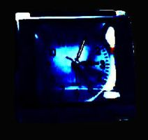 Clock in full moon backspace by Mario1630isAwesome