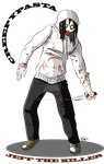 Creepypasta: Jeff The Killer by GabKT