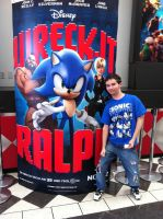 Guess who saw ''Wreck It Ralph''? by tailsdude12