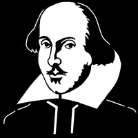 Shakespeare Stencil by towelgirl21