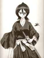 Rukia from Bleach by ArtsMermaid