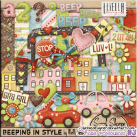 [SHARE RES] Scrap - Beeping In Style by GenieDesigner