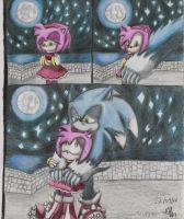 werehog sonic and amy by pauladrag17
