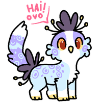 Pip the Peacat by Fluffily