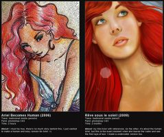 Little mermaid: Before x After by Isis-M
