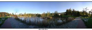 Kurpark Bad Schlema Panorama 2 by marse77