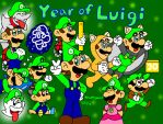 Year of Luigi by MarioSimpson1