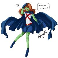 Miss Martian by graypanda