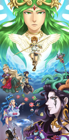 Kid Icarus 30th by theunspokenprophet