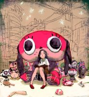 PARANOIA AGENT TRIBUTE by toniinfante