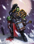 Thrall in the winter by okwang