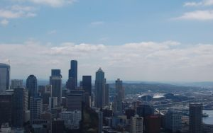 Stock 138 - Seattle Skyline by pink-stock