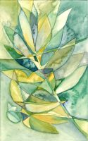 Cubism : Spectrum of Green by infiniteFinality