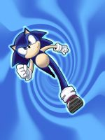 Video games tuseday speed drawing sonic by IDROIDMONKEY