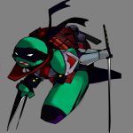Dark Leonardo [TMNT] by Element-113