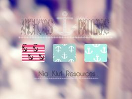 Anchors Patterns Nia Kiut by Niakiut