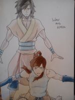 Wan and Korra by Doughnuts43