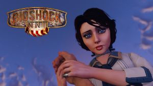 Bioshock Infinie Elisabeth look up by micro5797