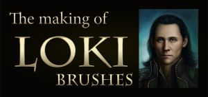Reine's Brushes for the making of Loki by DragonReine