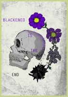 Metallica's Blackened song poster by GreGfield