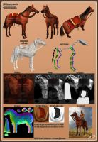 Khal Drogo's Horse by Majoh