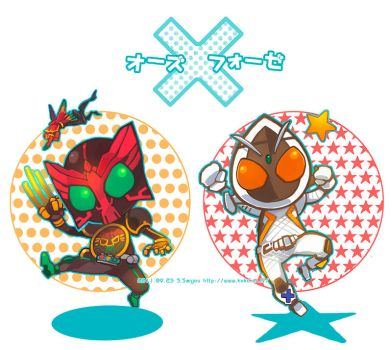 OOO and FOURZE by sorata-s