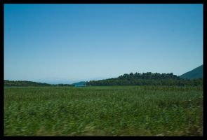 Fields of Greece by Vagrant123