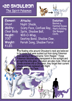 Fakemon: Ghouleon by JaDisArt