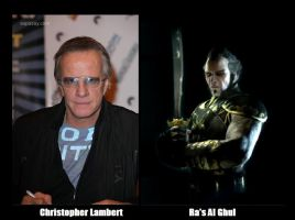 BATMAN Fan Cast - Ra's Al Ghul V.1 by RobertTheComicWriter