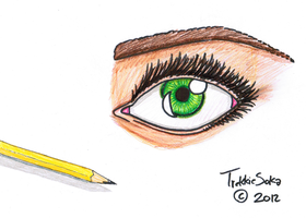 Eye Practice by Chrisily