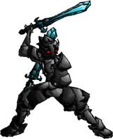 Dark Knight Sprite by DoppleGangsterStudio