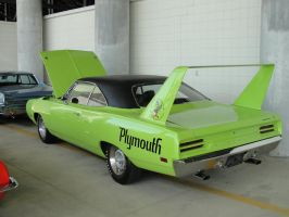 Green Plymouth Roadrunner by JShafer