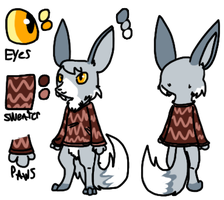 Contest Prize - Character Reference by Snow-ish