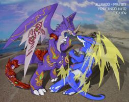 Aluka n Frayer Fate Encounter by dragoon86