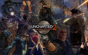 Uncharted 2 Among Thieves by ll-BANANA-ll