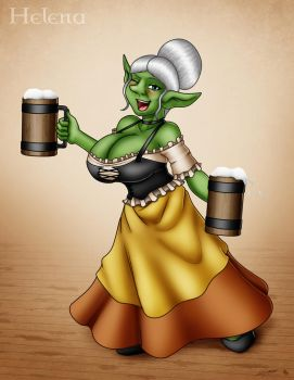 Hot Goblin MILF_Helena by Evil-Rick