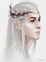 sehun elf by heybambie