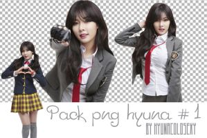 pack png Hyuna #1 by HyunaColonsexy