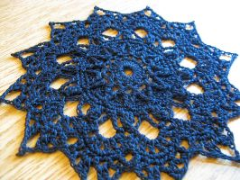 Black Star Doily No. 93 by doilydeas