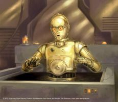 C3PO by jasonjuta