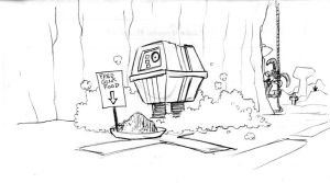 The Adventures of Gonk the Power Droid 21 by Gorpo