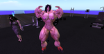 Manoua front-double bicep by ericf989