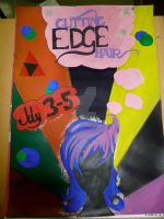 Cutting Edge Hair poster by Lil-Plunkie