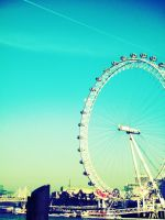 London Eye by JenniferKeikeu