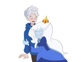 Jack Frost / Ice Queen quick sketch by BoukenRed