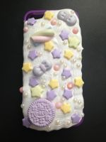 Decoden Frosted iPhone 5/5S Case- Pastel Purple by Xecax