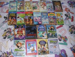 My DTA Video Collection by nintendomaximus