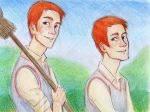 Fred and George by Dinoralp