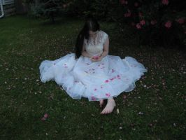 Wedding dress by 3corpses-in-A-casket