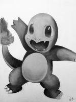 Charmander by shadwgrl